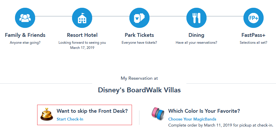 dvc reservation linking