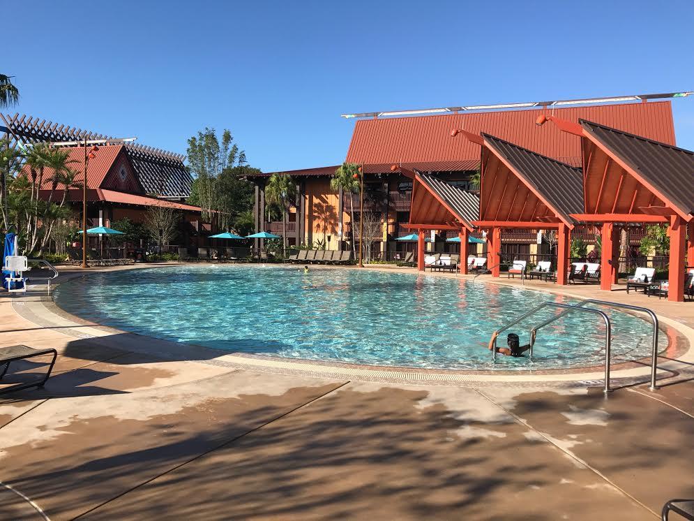 polynesian village quiet pool